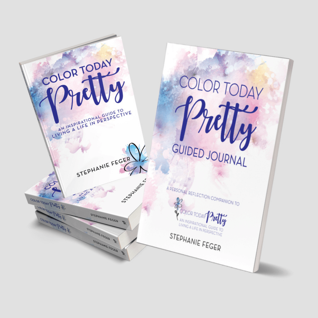 Signed Bundle: Color Today Pretty Book and Guided Journal
